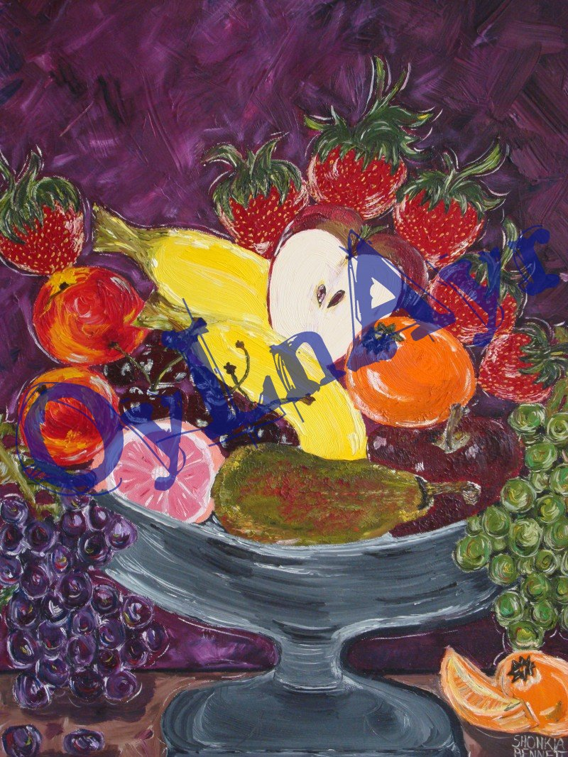 Still Life Fruit Basket